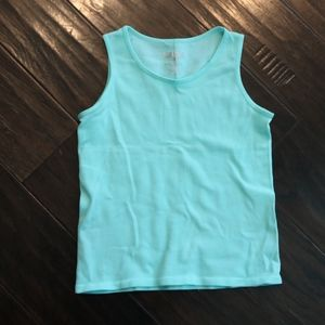 Kids Turquoise PINK HOUSE knit tank One size